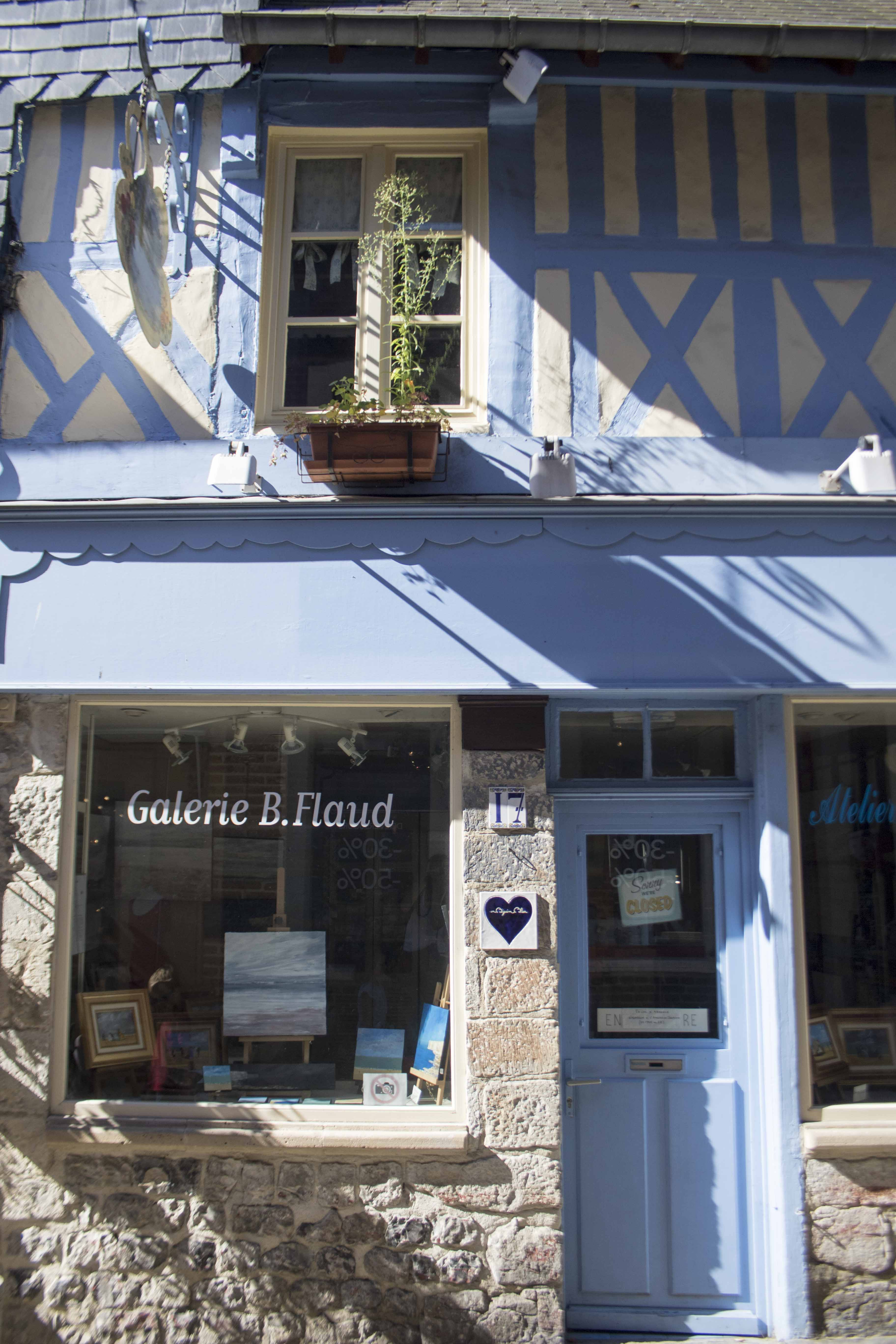 Adorable normand shop in Honfleur
