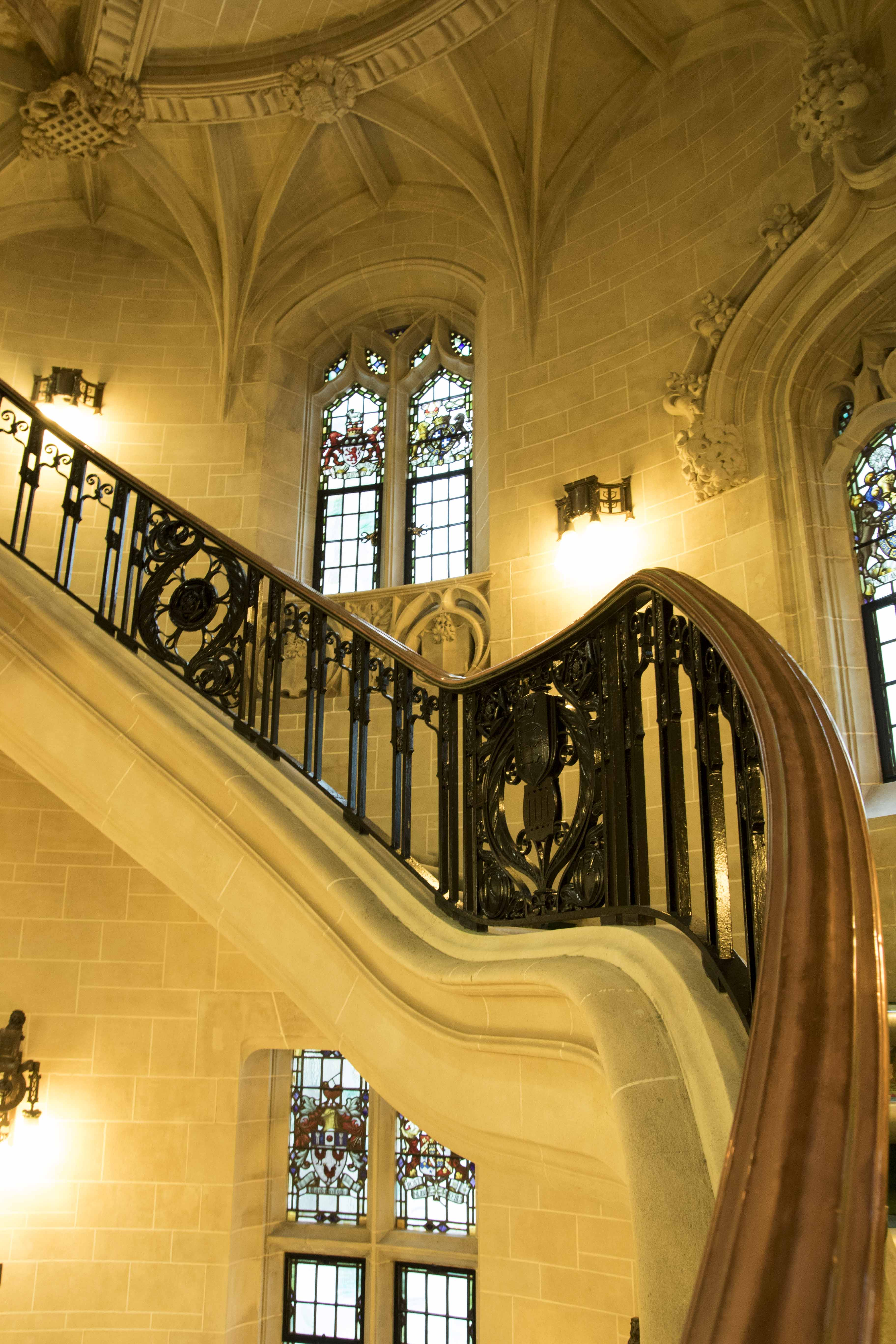 Staircase at the Supreme Court of the UK